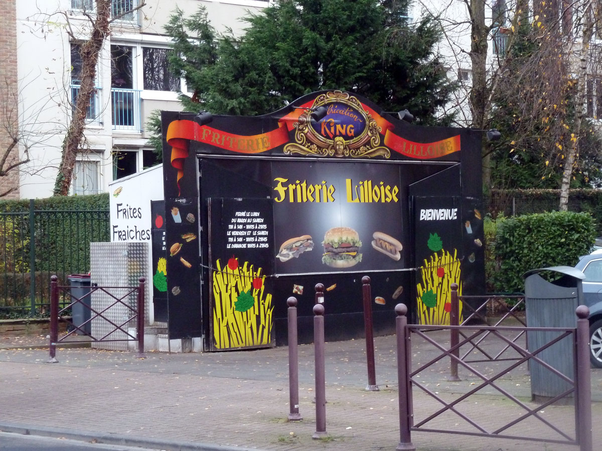 Friterie le king lille not parisienne - Trouver ma salle lille 3 ...