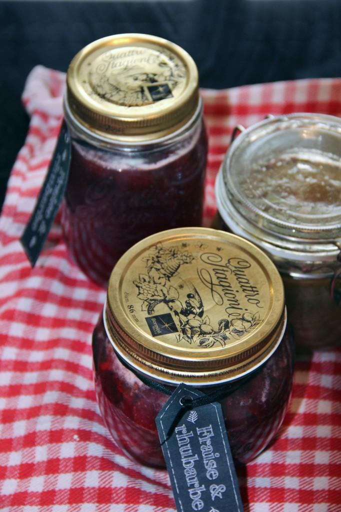 confiture-fraise-rhubarbe