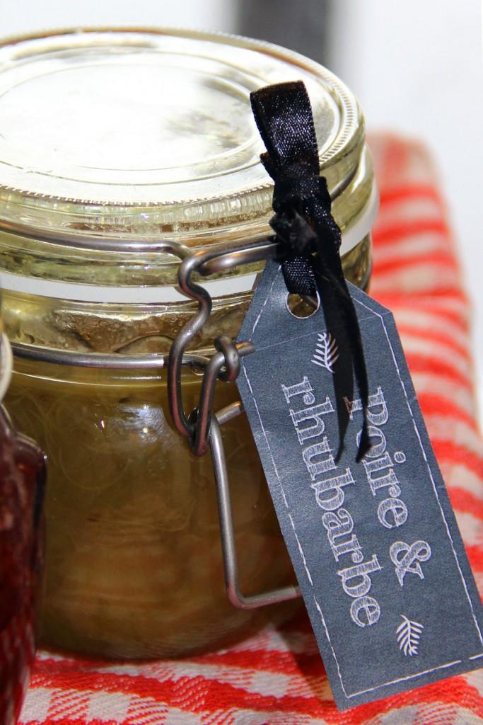 confiture-poire-rhubarbe