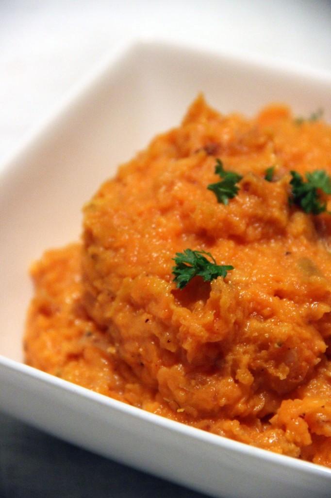 puree-patates-douces-oignons-caramelises