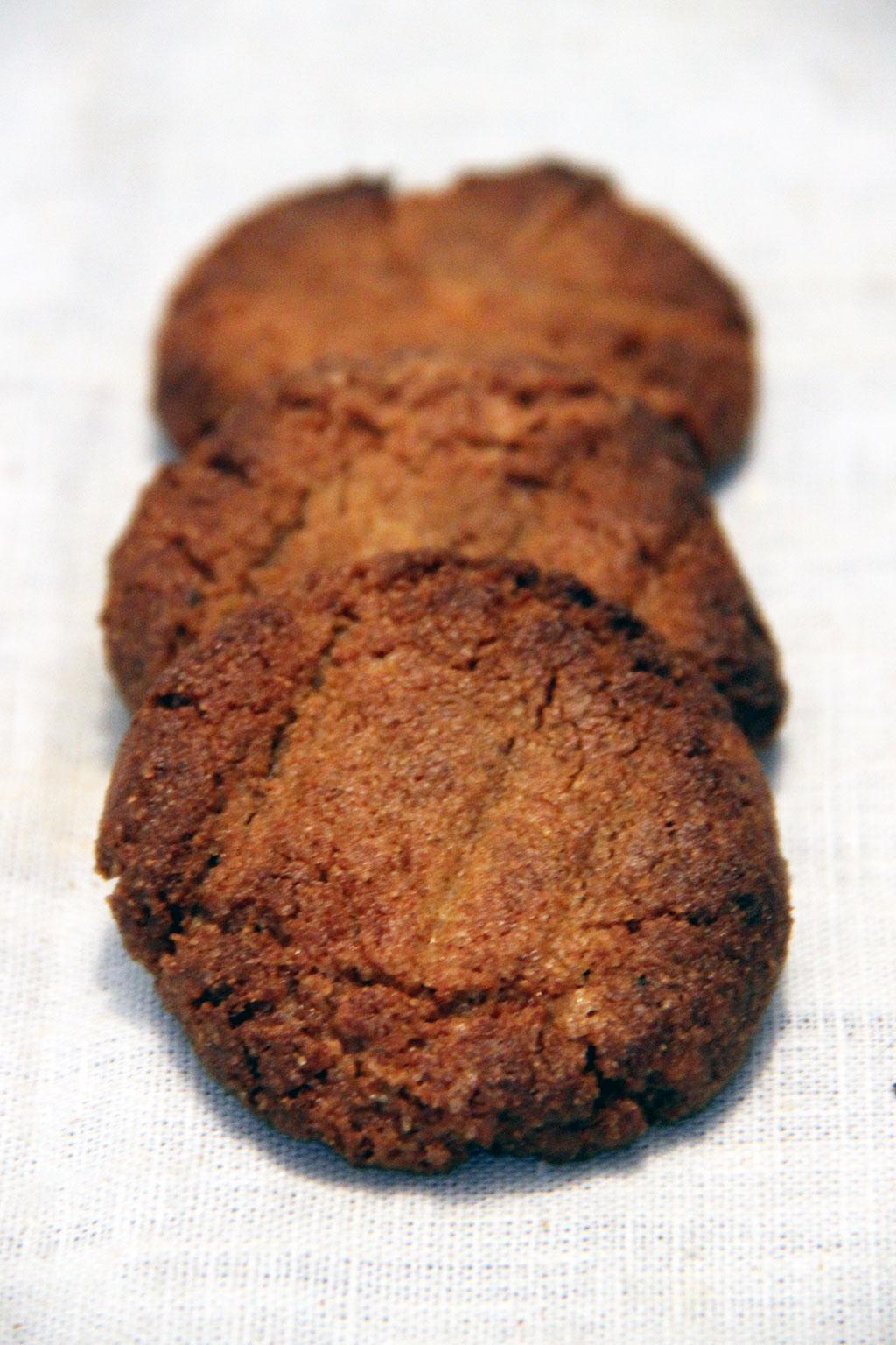 Cookies au beurre de cacahu te not parisienne - Cookies beurre de cacahuete ...