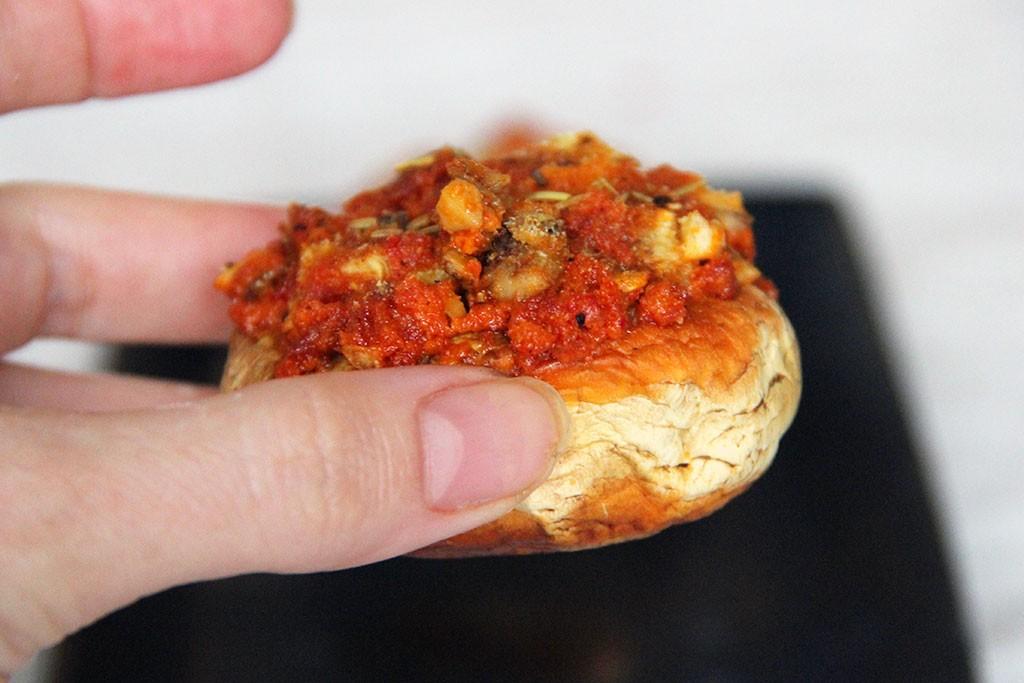 champignon-chorizo