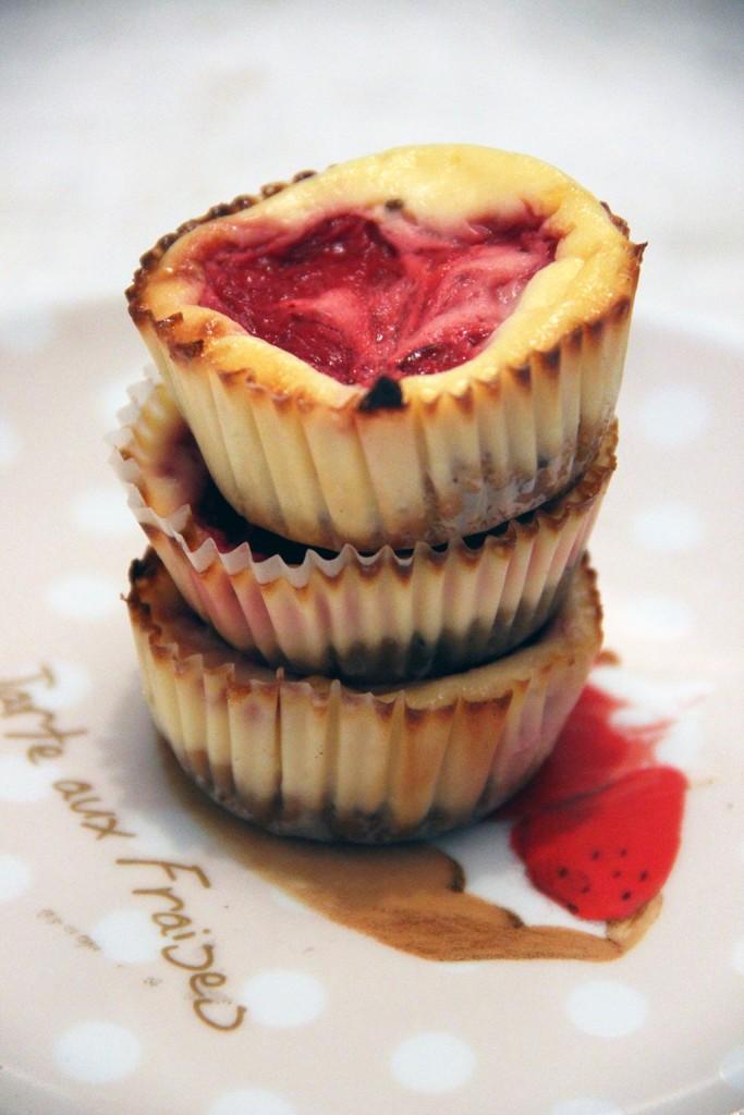 cupcakes-cheesecake-fraise