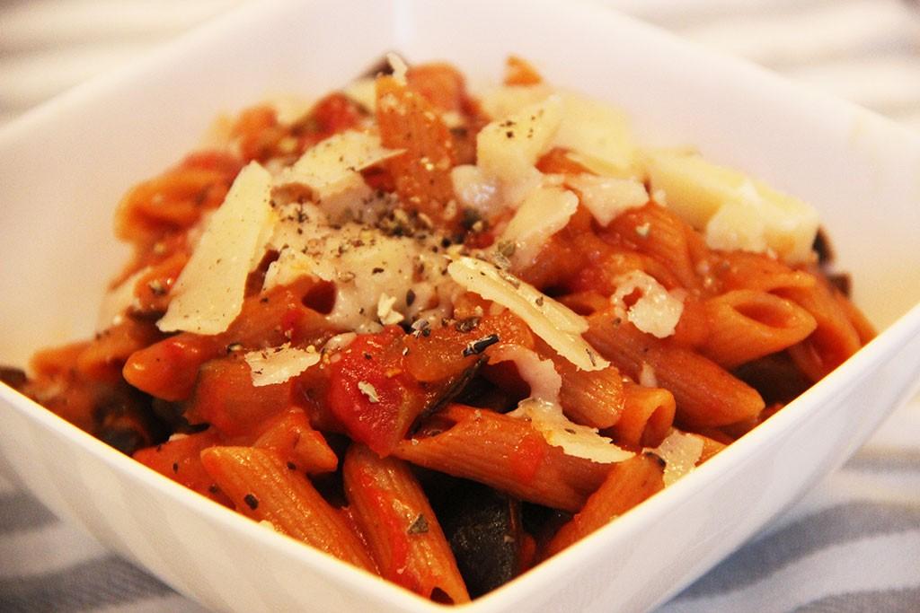 one-pot-pasta-aubergine-epicee