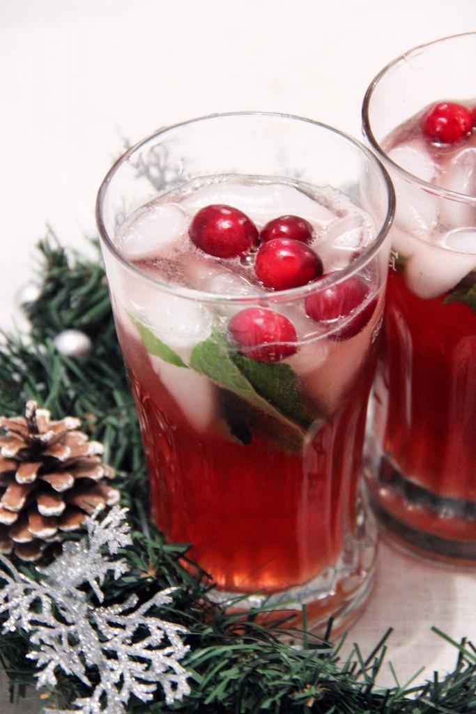 mojito-cranberries