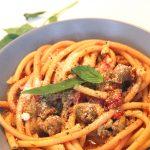 One pan pasta saucisse