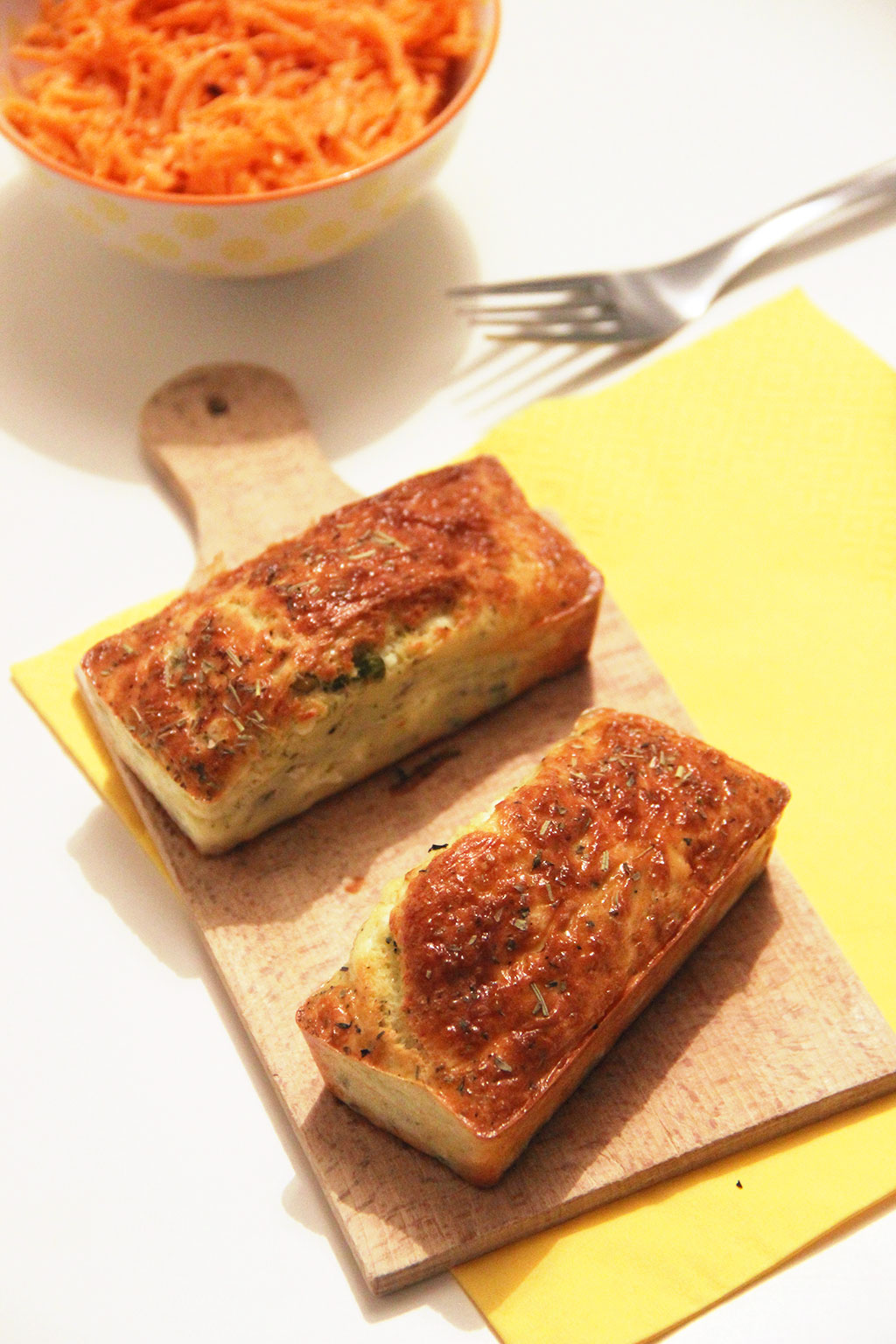Cake Petit Pois Feta