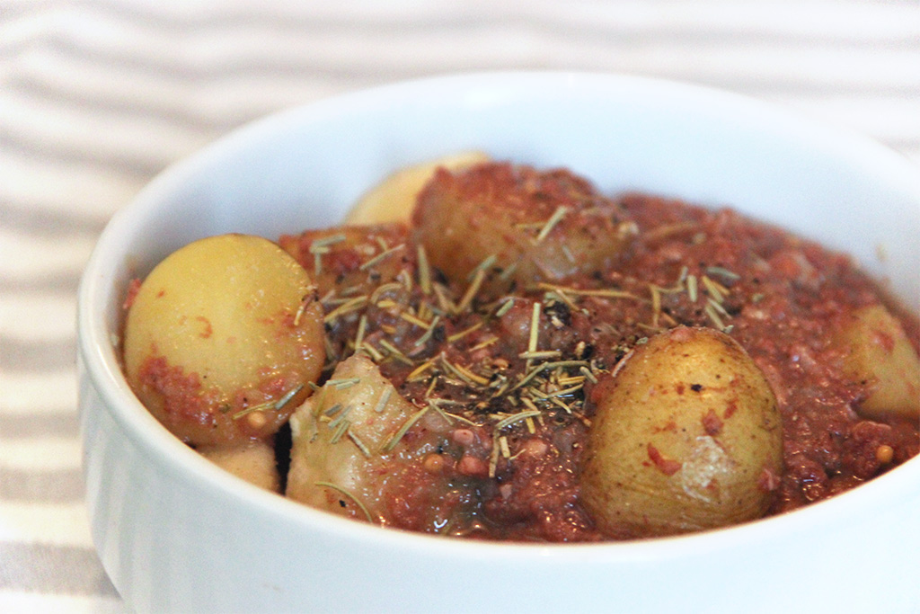 Ragoût de chou et corned beef