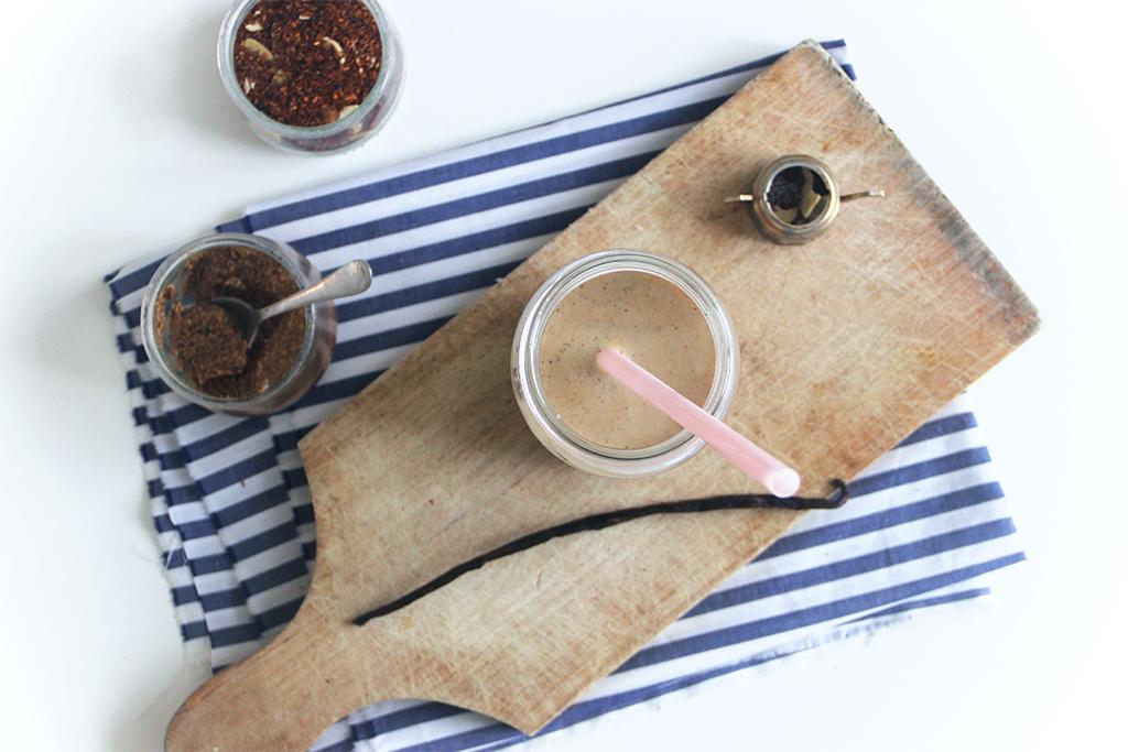 Thé latte rooibos coco amandes