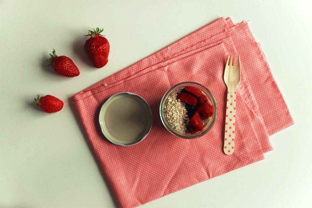 Chia bowl aux fraises