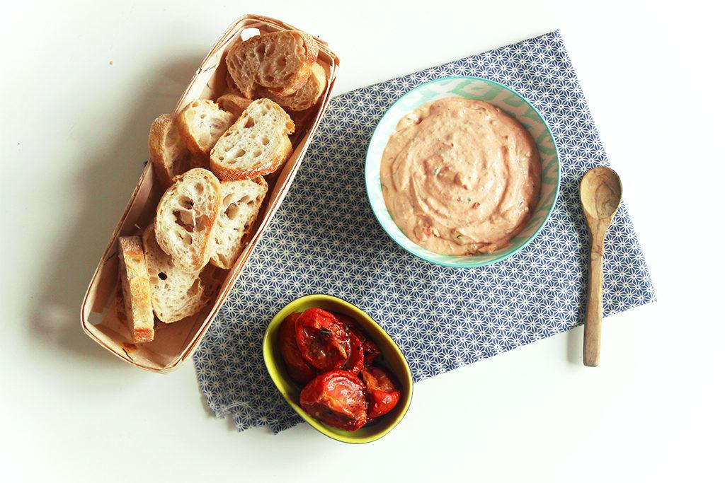 Tartinade de tomates séchées