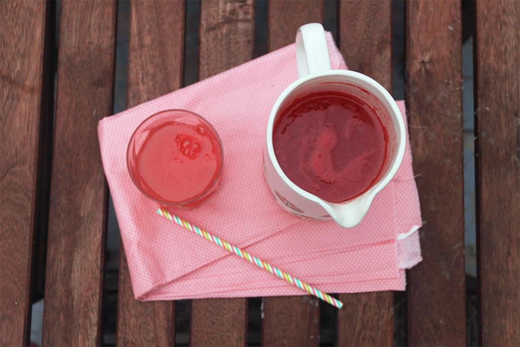 Pink lemonade à la pastèque