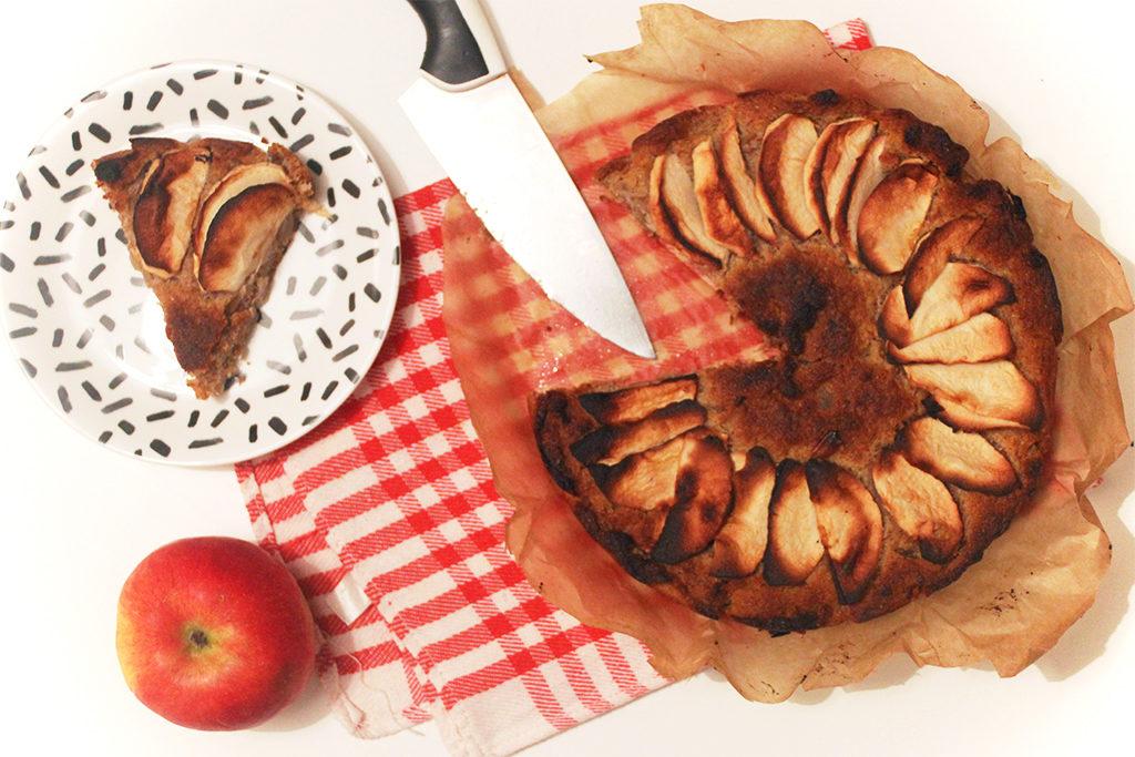 Gâteau aux pommes, gingembre et cardamome