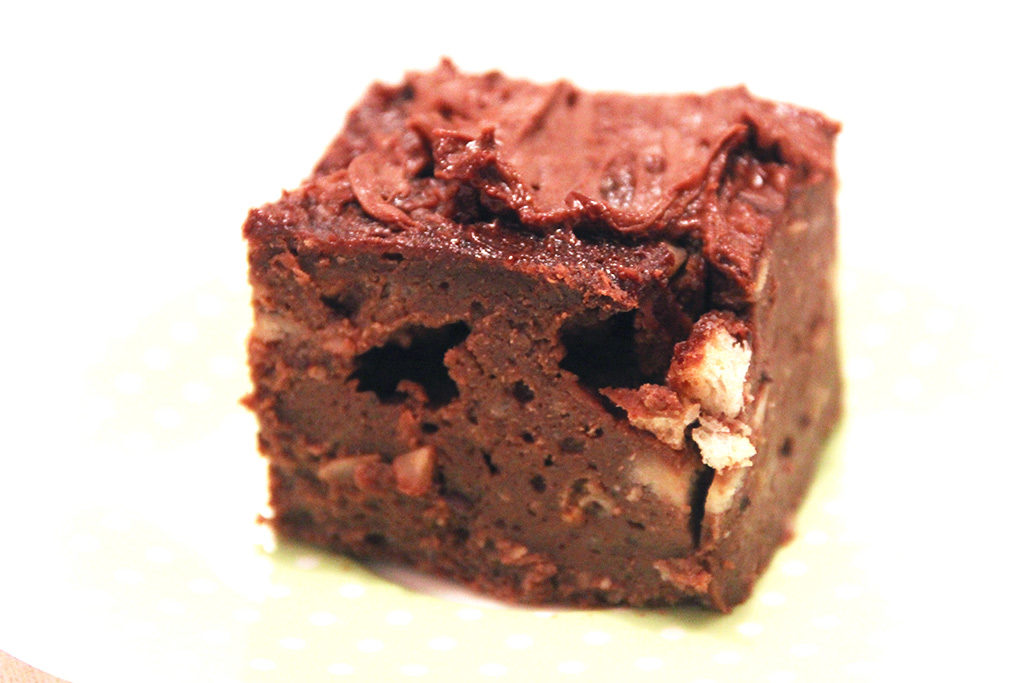Pudding au chocolat et noisettes