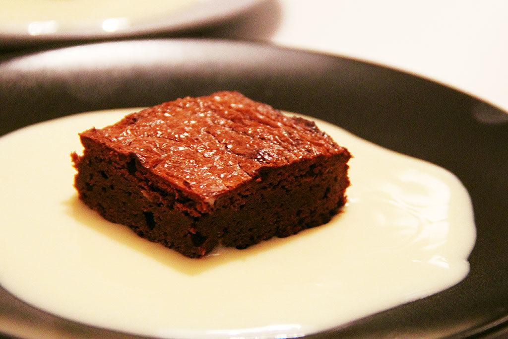 Brownie d'hiver aux marrons