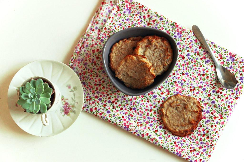 Cookies banane noix de coco (2 ingrédients)