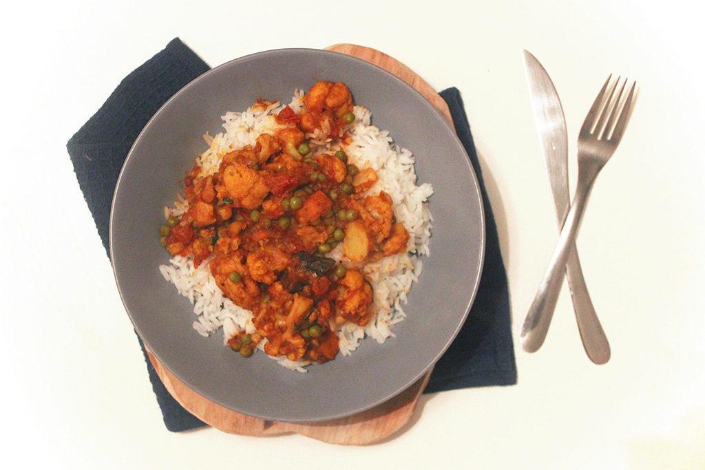 Curry de chou fleur népalais
