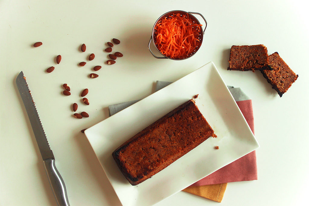 Carrot cake sans oeufs