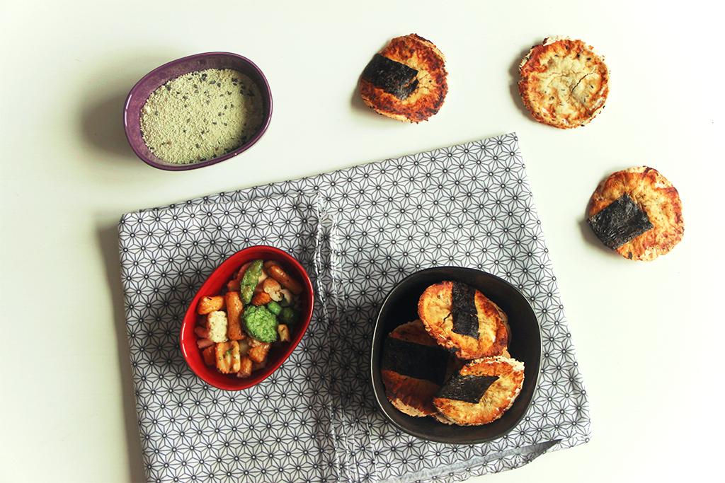 Spécialité du japon : senbei (crackers)