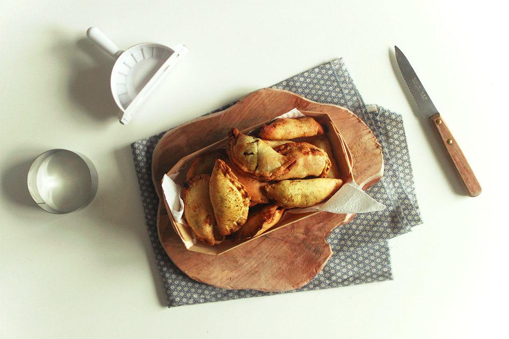 Spécialité de Singapour : curry puffs