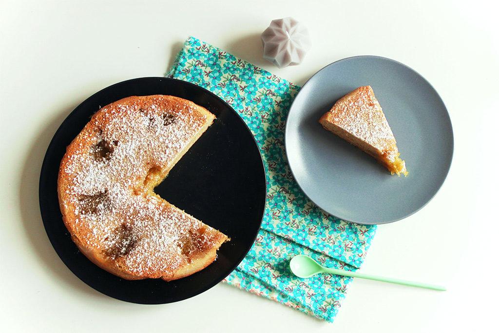 Gâteau moelleux italien à la confiture