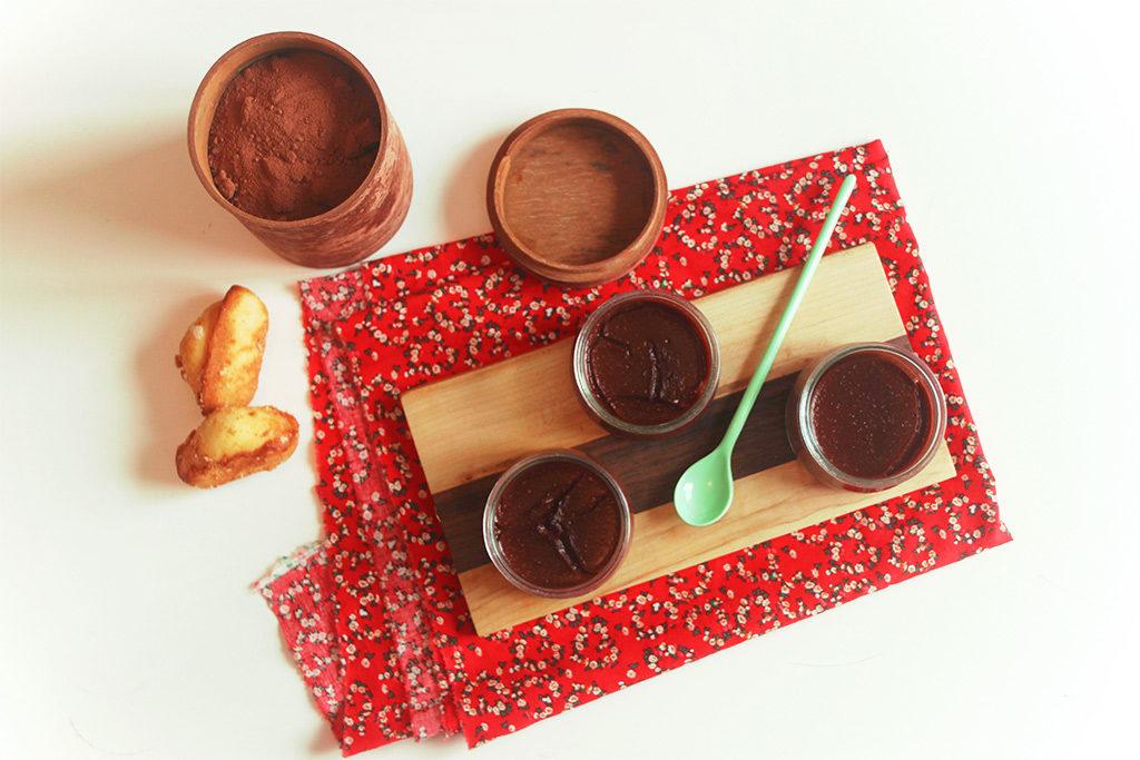 Crèmes d'avoine au chocolat