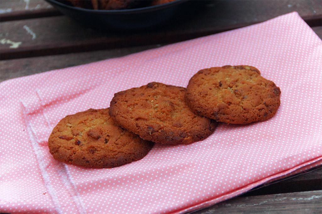 Cookies au chocolat et granola
