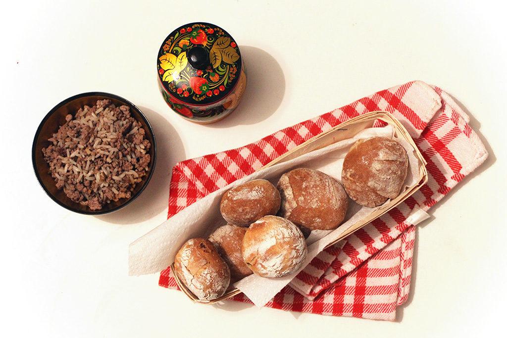 Spécialité russe : piroshki au bœuf