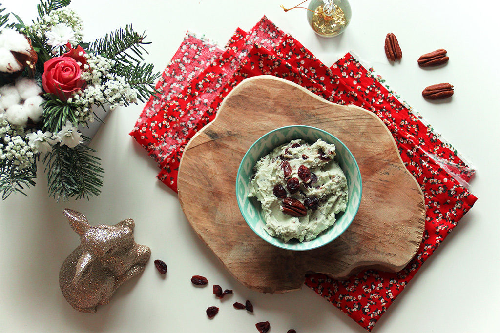 Tartinade au roquefort et cranberries