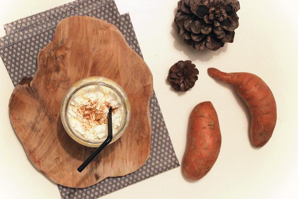 Sweet potato latte