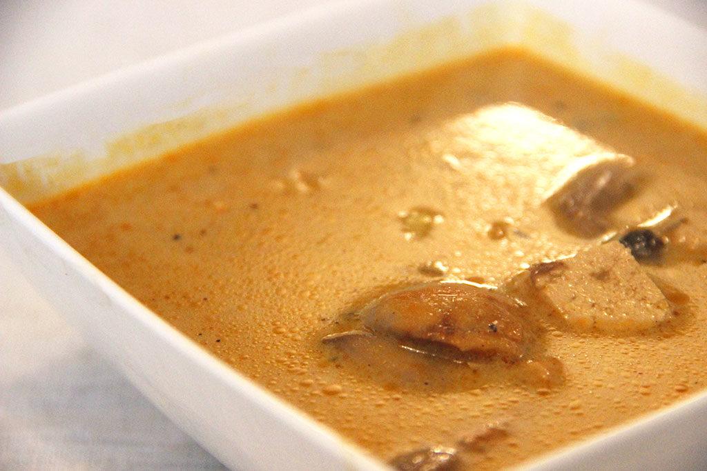 Spécialité thaïlandaise : soupe Tom Kha Gai
