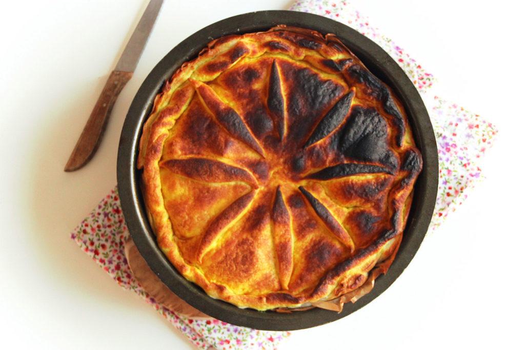 Tourte raclette