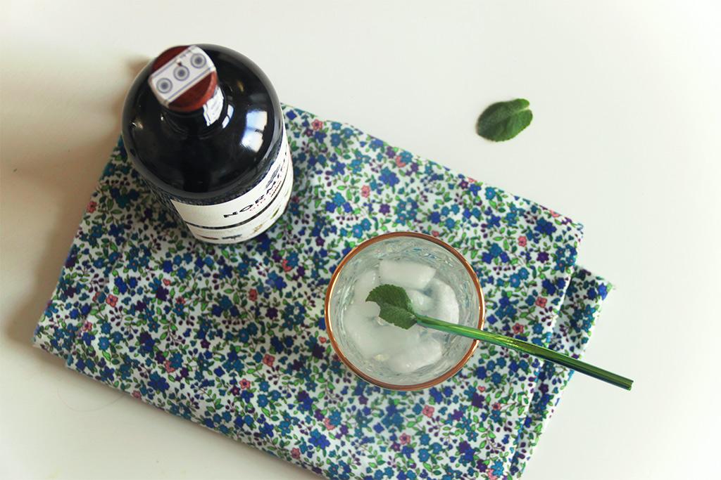 Gin tonic à l'eau de coco