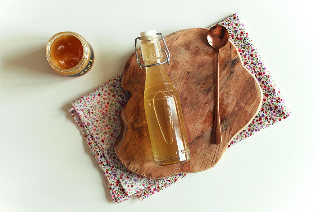 Sirop de miel à la fleur d'oranger