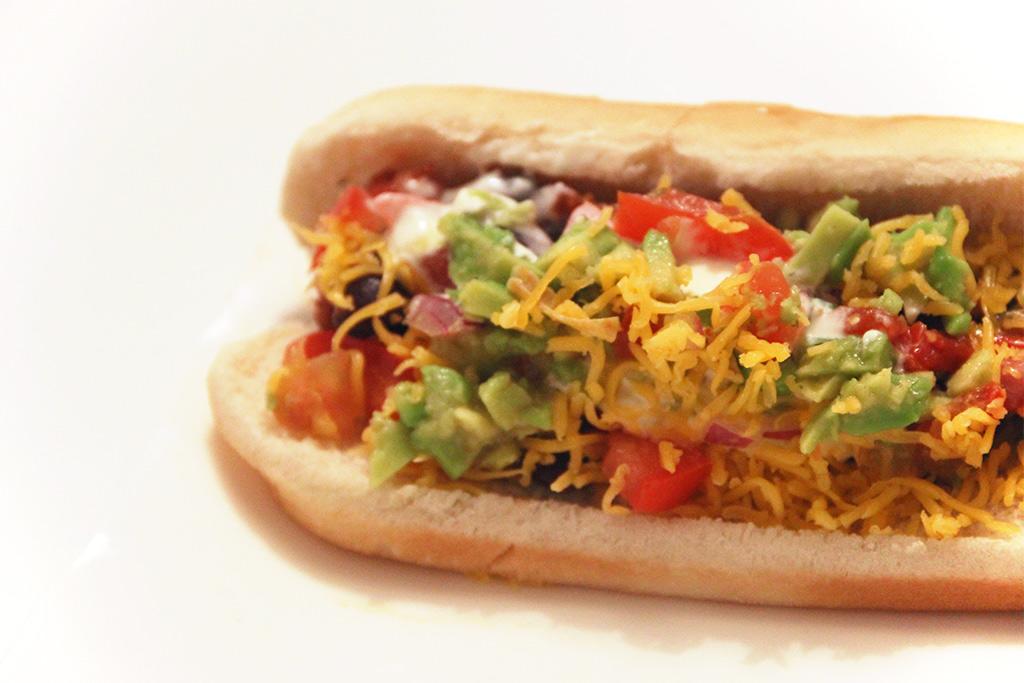 Hot-dogs façon tacos